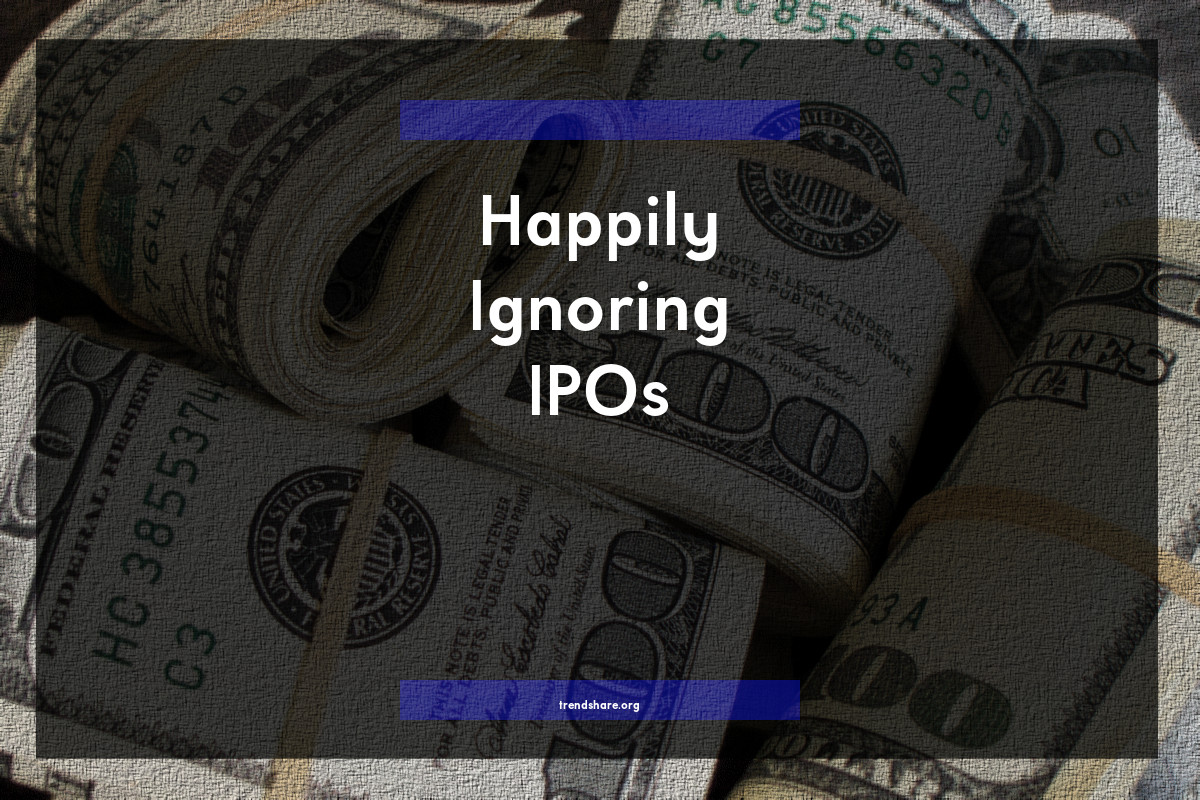 Happily Ignoring IPOs