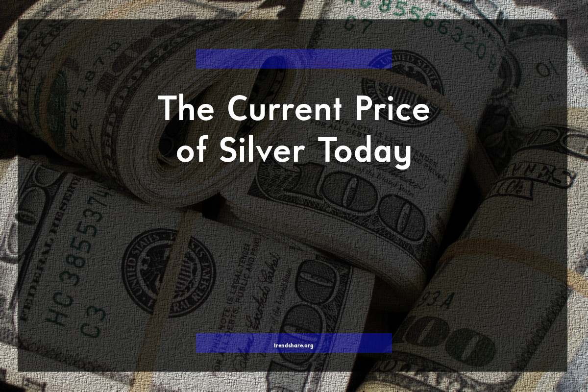 The Current Price of Silver Today