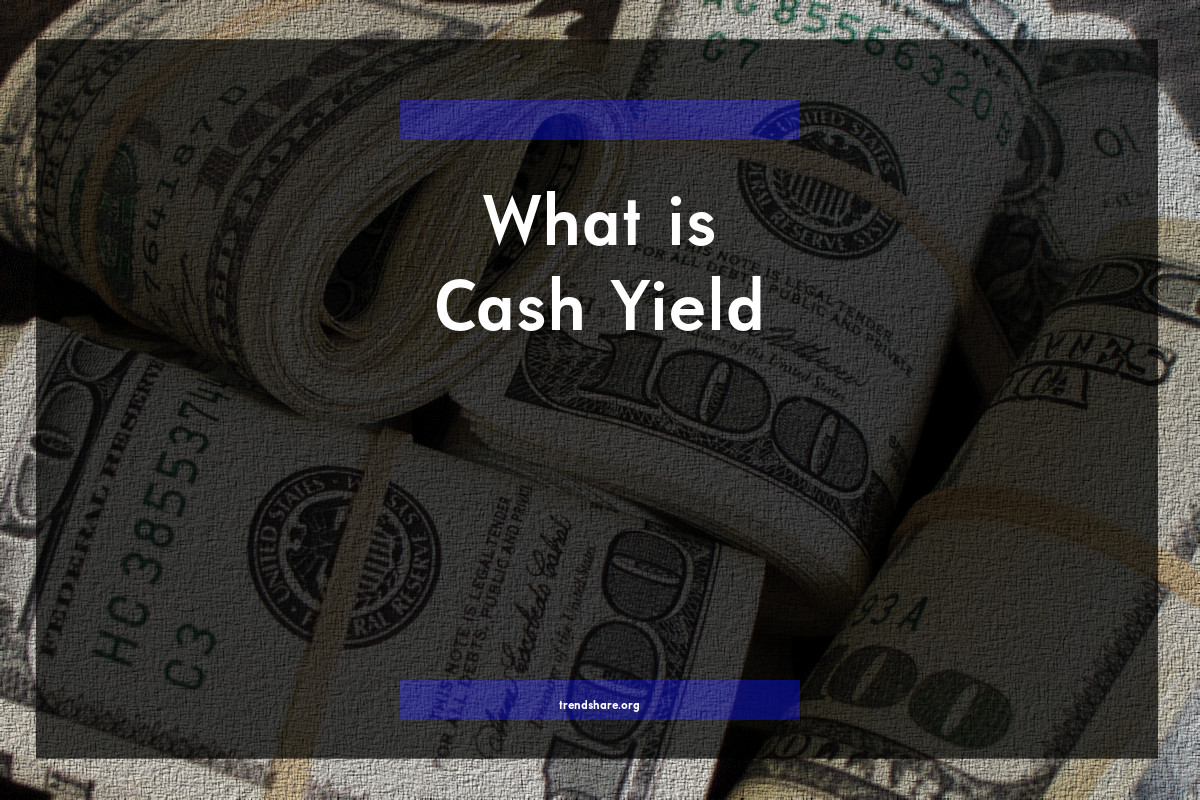 What is Cash Yield?